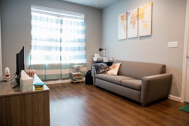HSU apartment living room